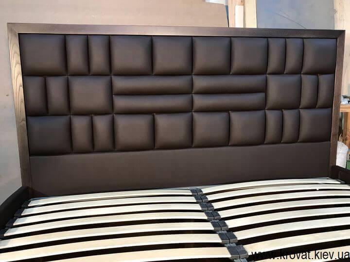 велике ліжко з ящиком на замовлення