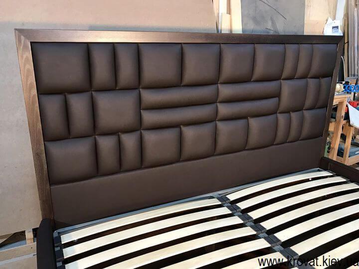 изготовление высоких двуспальных кроватей на заказ