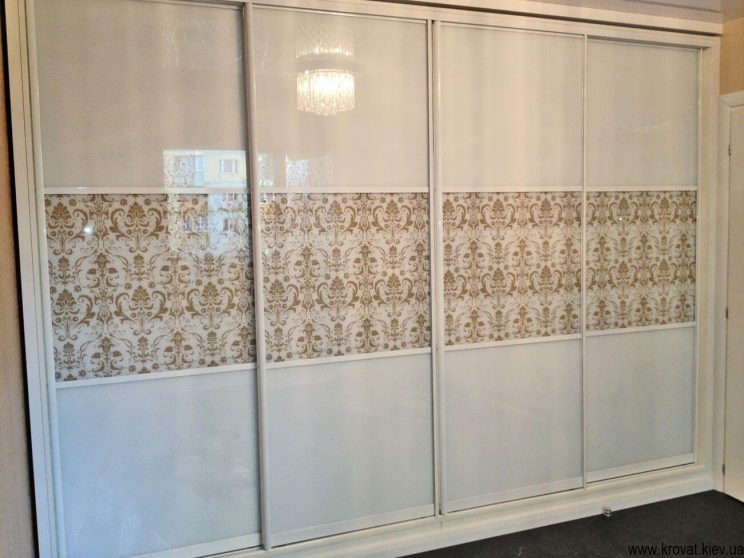 изготовление 4 х дверных шкафов купе на заказ в Киеве