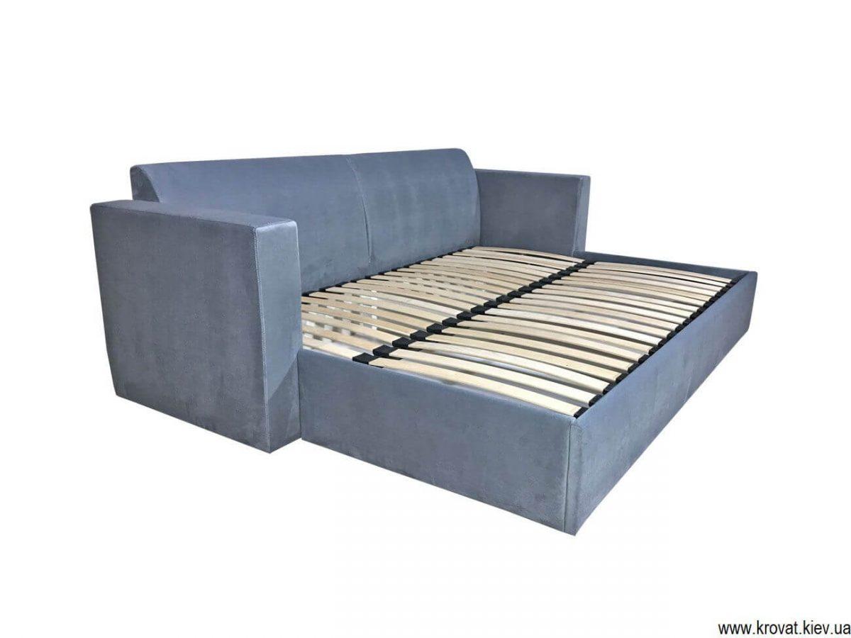 диван-ліжко з ортопедичним матрацом
