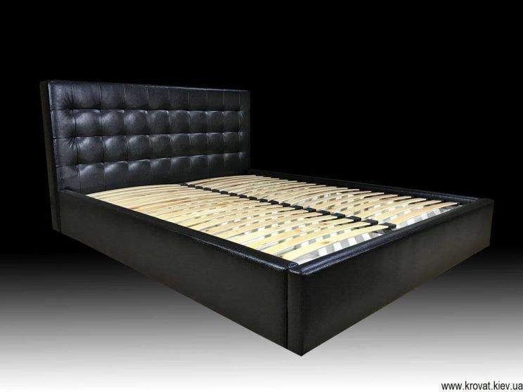 ліжко зі шкірозамінника на замовлення