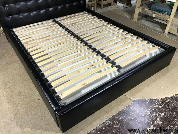 кровать из кожзама с подъемным механизмом на заказ