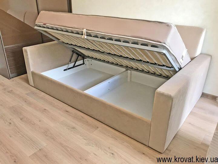 диван-кровать с нишей на заказ