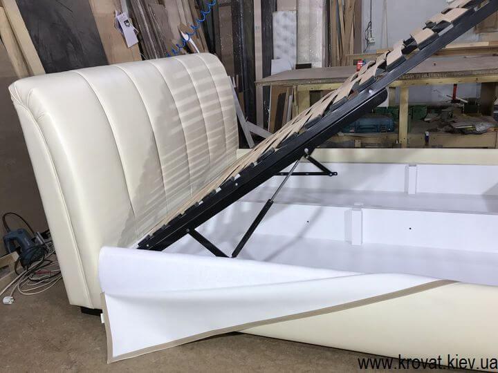 ліжко євро розмір з підйомним механізмом на замовлення