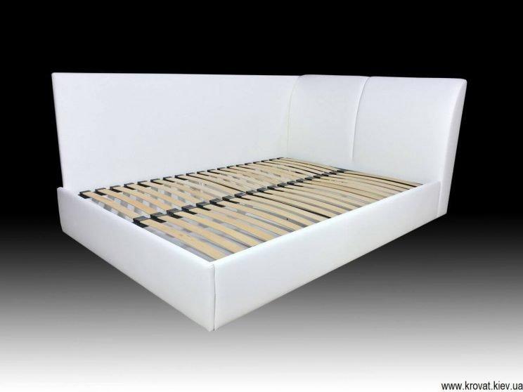 2 спальне ліжко з бічною стінкою на замовлення