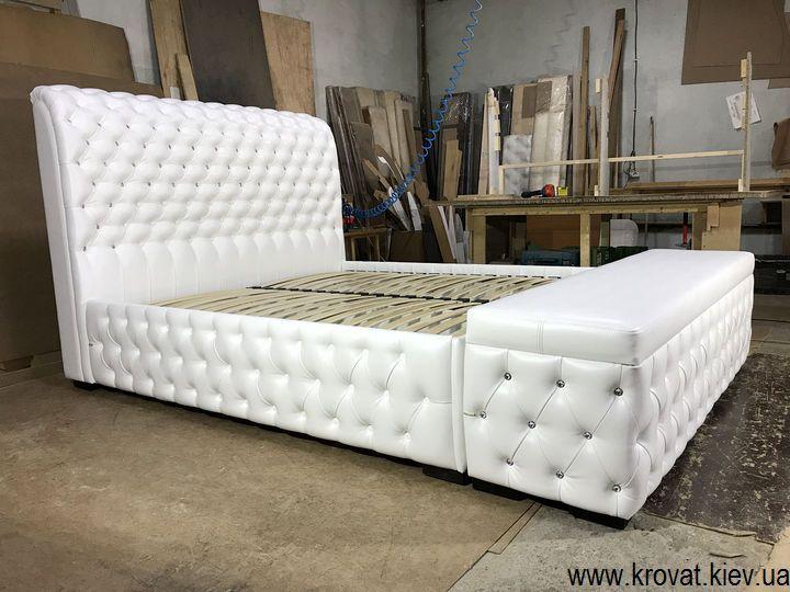 кровать с пуфиком на заказ