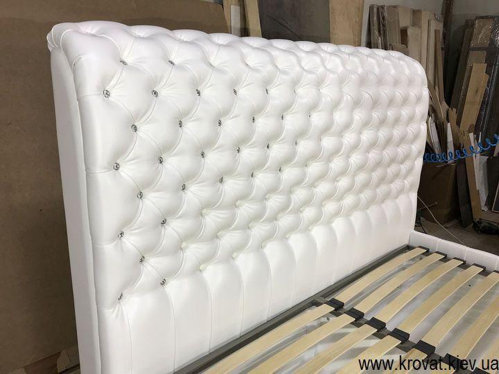 кровать с приставным пуфом на заказ