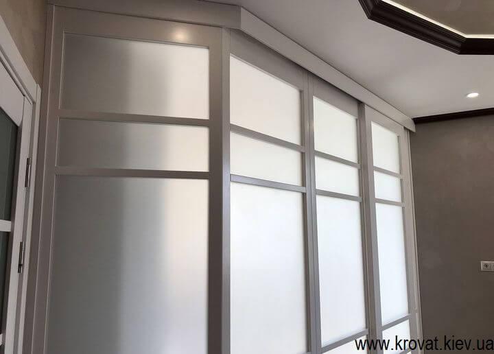 перегородка в комнате на заказ