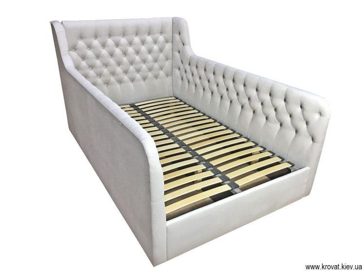 подростковая кровать с мягкими бортами