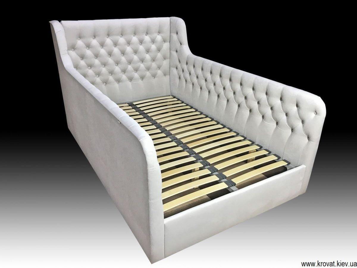 подростковая кровать с мягкими бортами на заказ