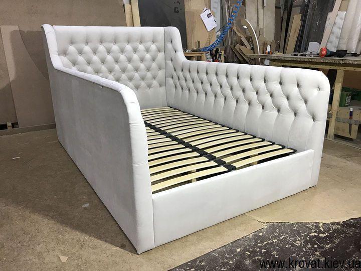 подростковая кровать с мягкими бортиками на заказ