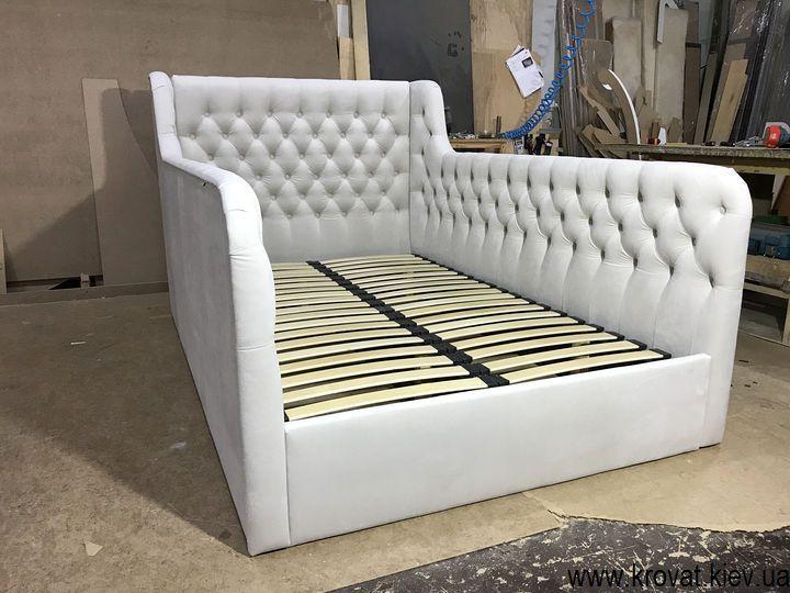 кровать с мягкими бортами для подростка мальчика на заказ