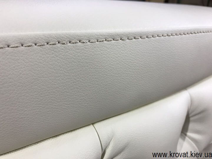 кровать кинг сайз в кожзаме на заказ