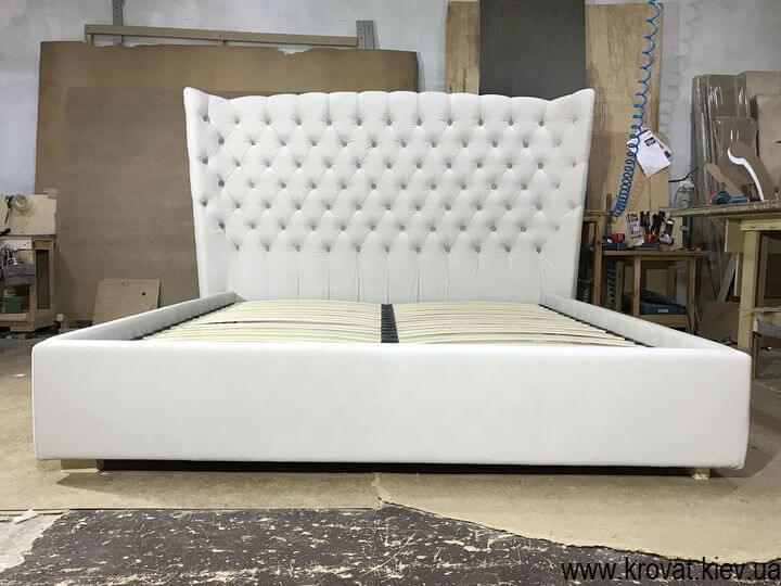 кровать с высокой спинкой на заказ