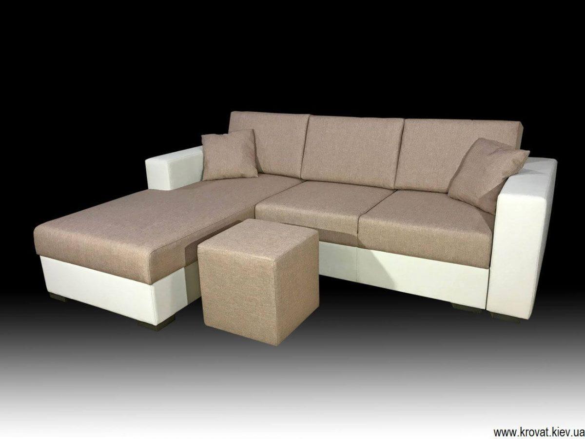 спальный угловой диван на заказ