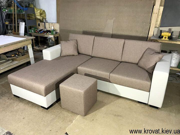 раскладной спальный угловой диван на заказ