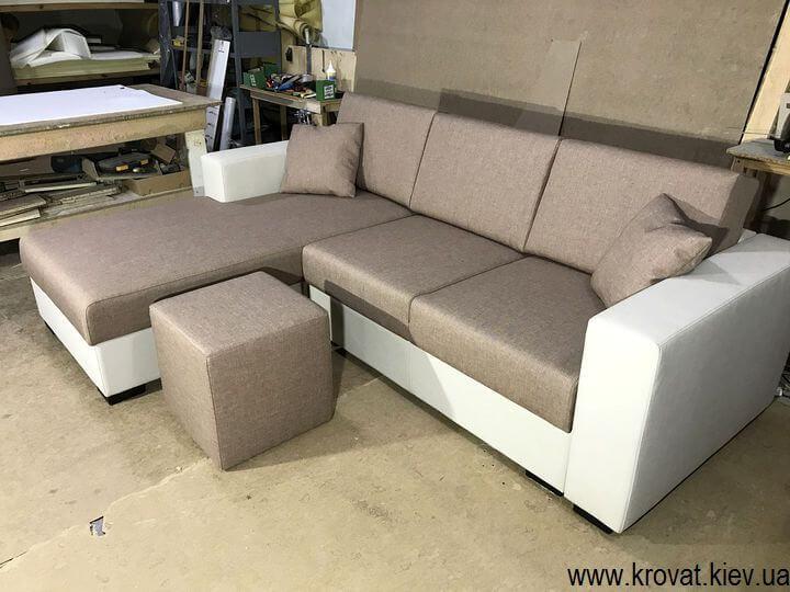 раскладной угловой диван на заказ