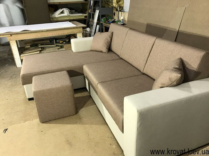 раскладной угловой диван с механизмом пума