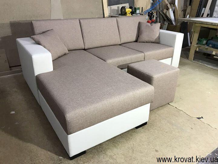 кутовий диван з механізмом пума на замовлення