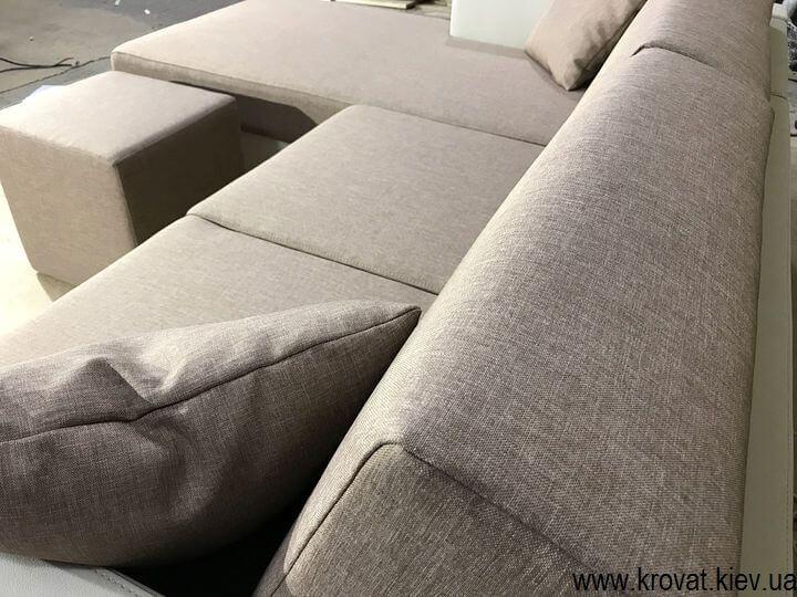 м'який кутовий диван на замовлення