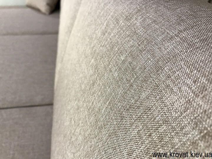 кутовий диван в тканини на замовлення