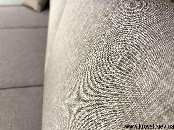 угловой диван в ткани на заказ