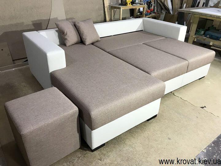 виробництво кутових диванів на замовлення