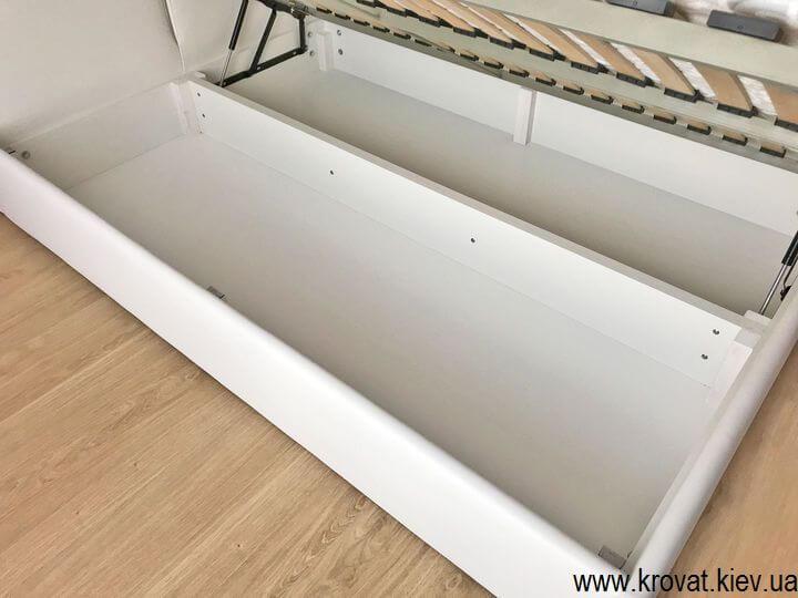 двуспальная боковая кровать на заказ