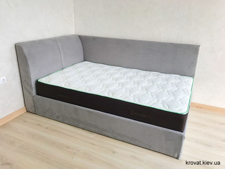 кровать с боковой спинкой 120х200 на заказ