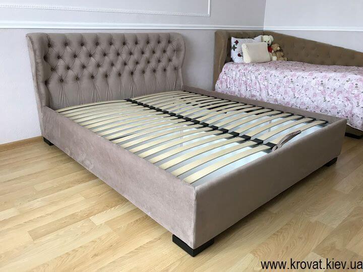 кровать с низким изголовьем на заказ