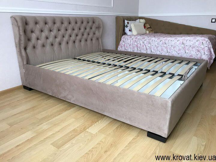 кровати с низким изголовьем на заказ