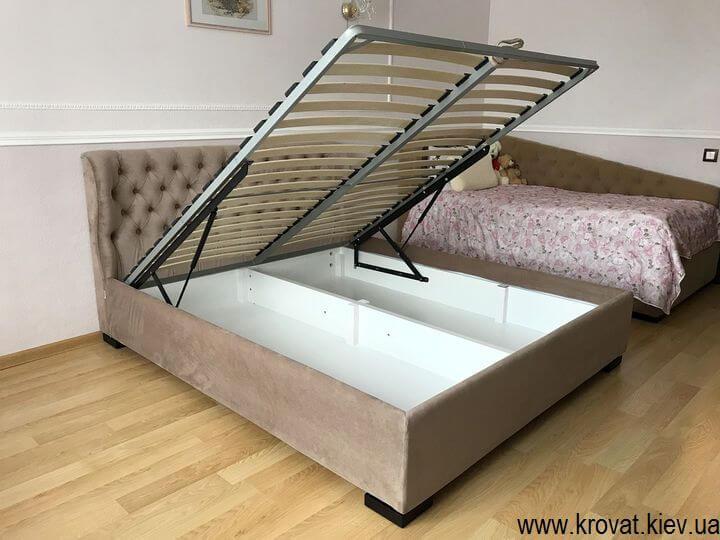 низкая кровать на заказ