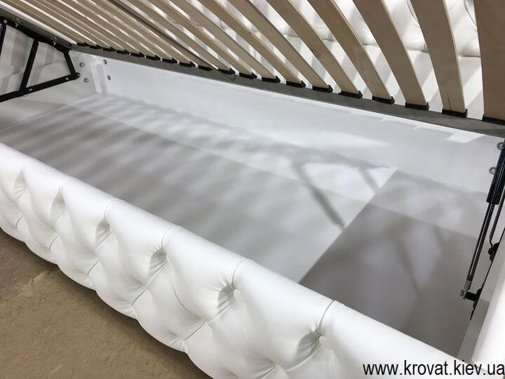 односпальная кровать с нишей на заказ