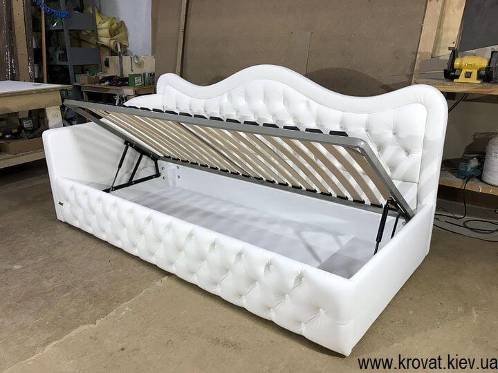 односпальная кровать с ящиком на заказ