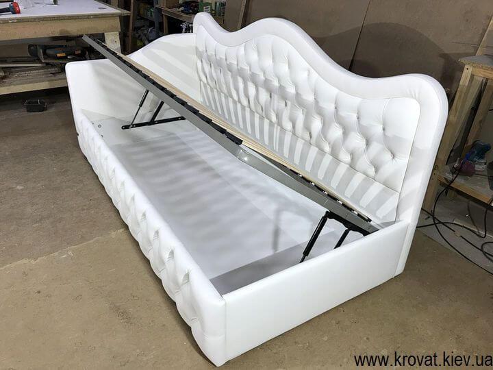 односпальная кровать с подъемным механизмом на заказ