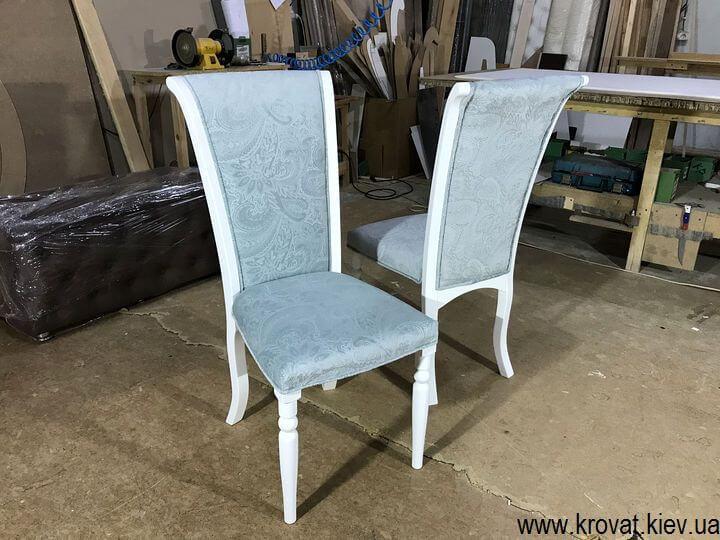 белый деревянный стул на заказ