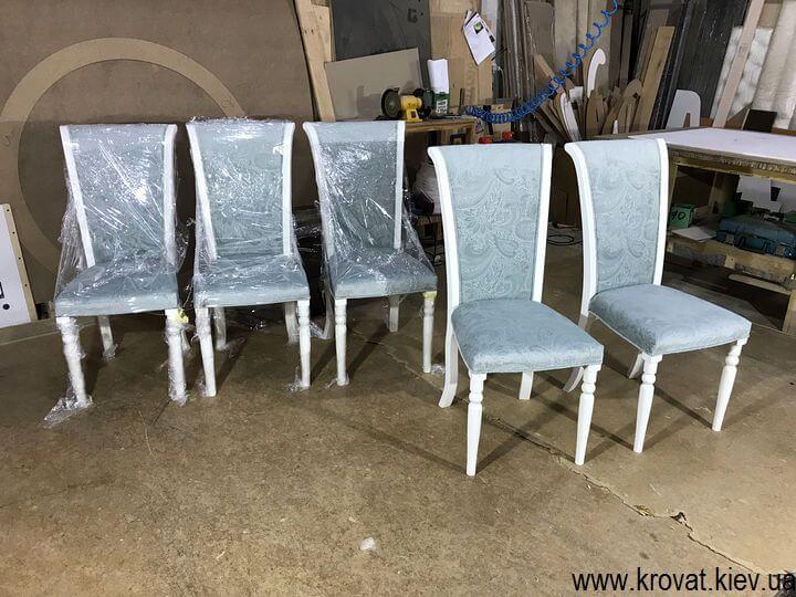 изготовление деревянных стульев на заказ в Киеве
