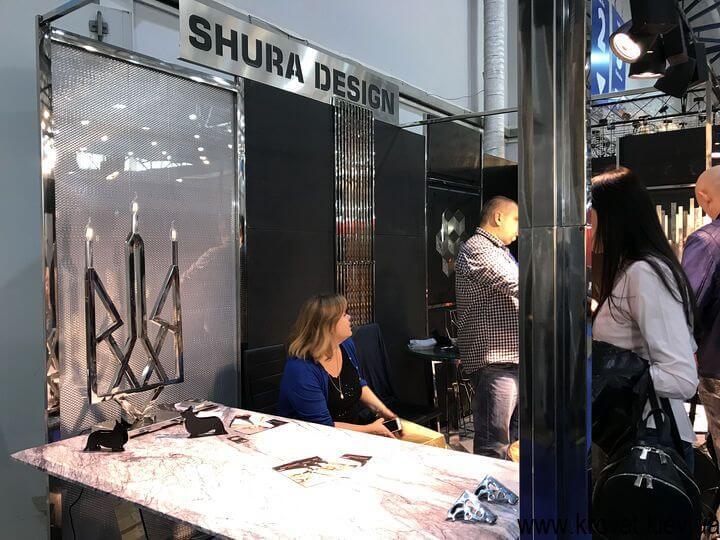 мебель из металла на выставке в Киеве 2018