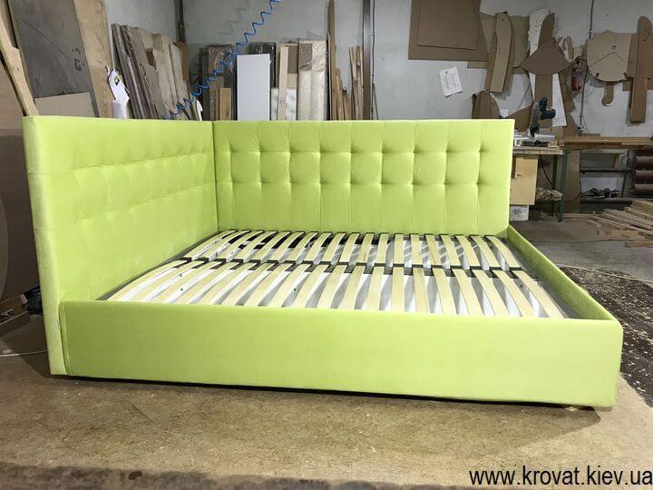 ліжка з м'якою бічною спинкою на замовлення