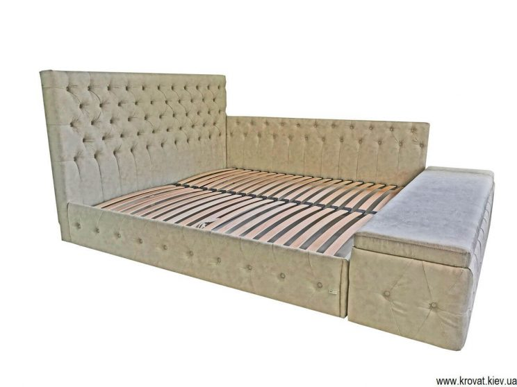 кровать с боковым подъемным механизмом