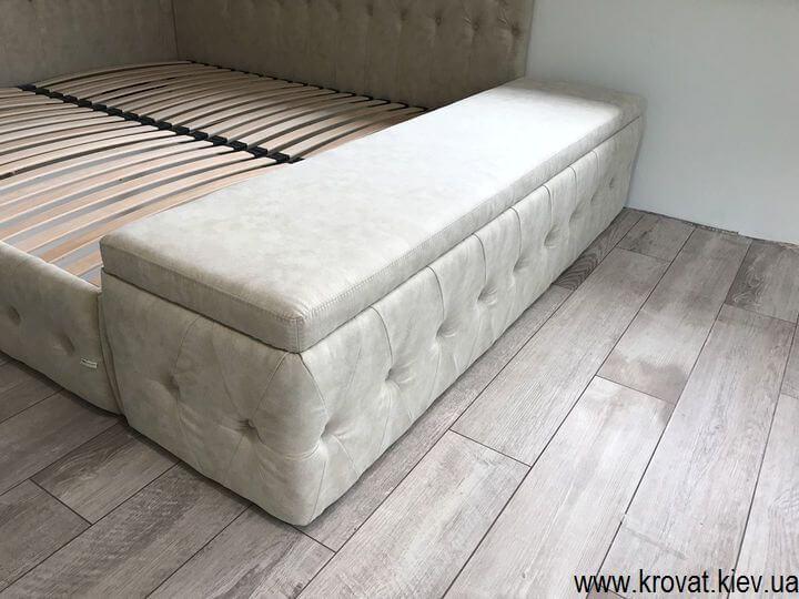 пуф к кровати в спальню на заказ