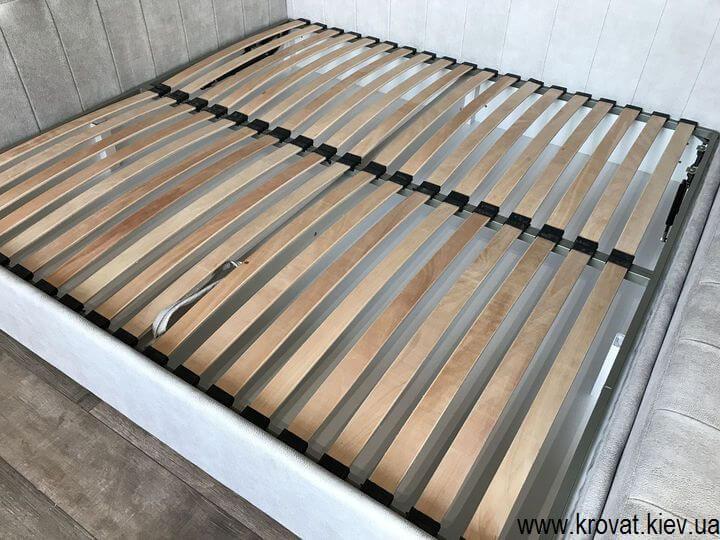 ортопедичне ліжко в ніші кімнати на замовлення