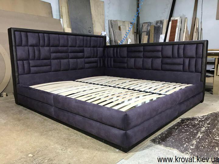 угловая кровать 200х220 на заказ