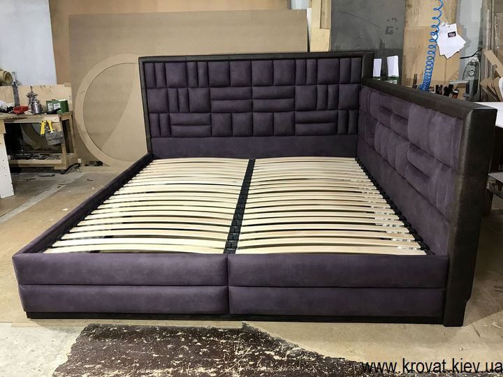 кутове ліжко 200х220 без ніші для білизни на замовлення