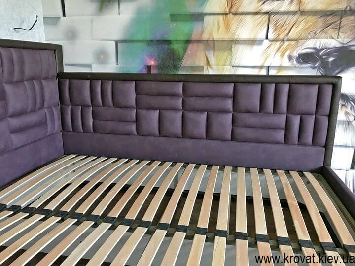 ліжко зі спальним місцем 200х220 на замовлення
