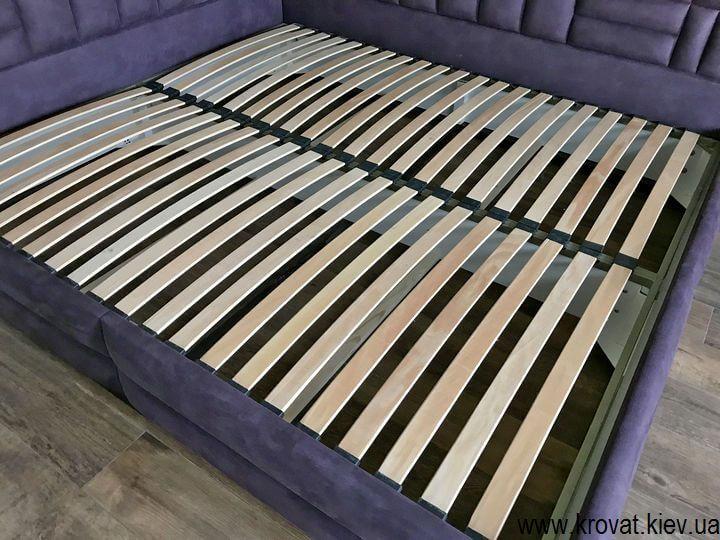 ліжко 200х220 з бічною спинкою на замовлення