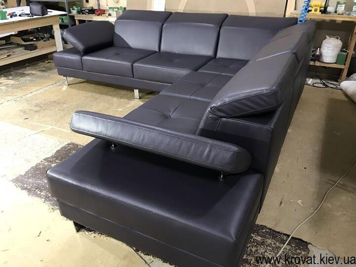 кожаная мебель на заказ