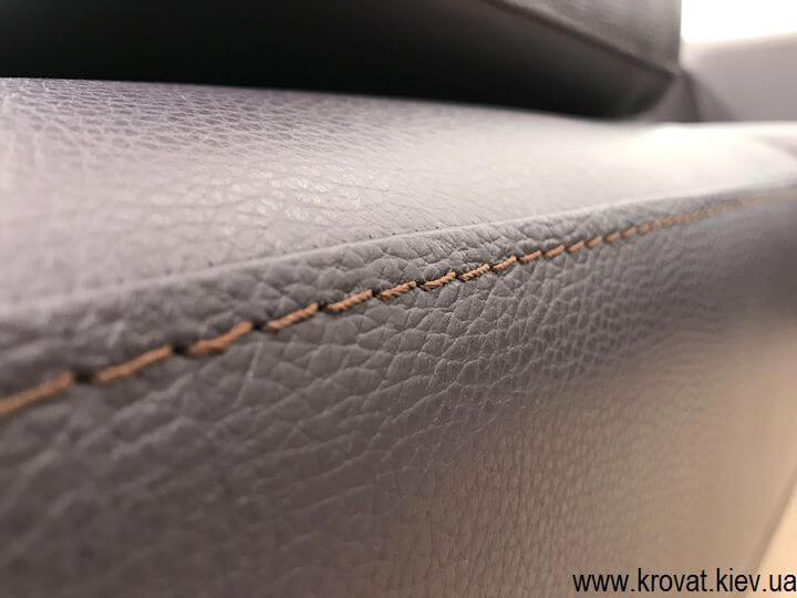 изготовление угловых кожаных диванов на заказ