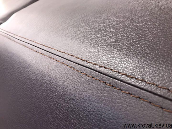 купить угловой кожаный диван в Киеве на заказ