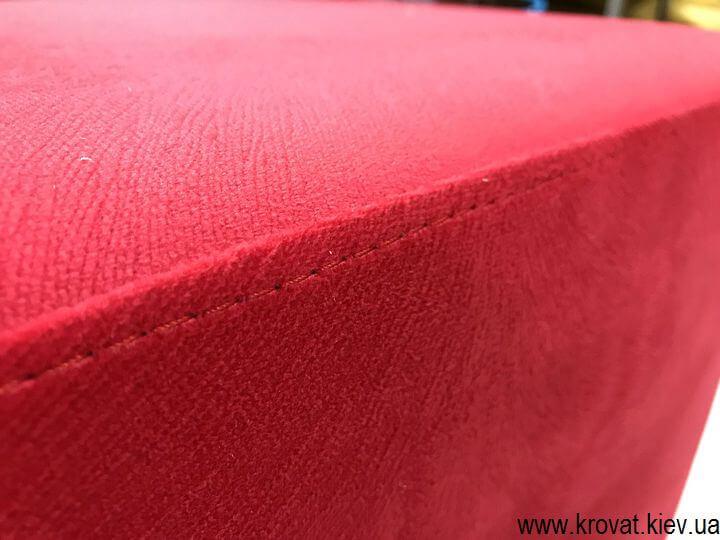 как сделать квадратный пуфик в прихожую своими руками из ткани